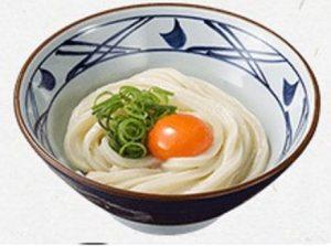 丸亀製麺 釜玉うどん