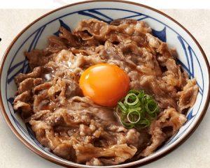 丸亀製麺「牛すき釜玉2019」2019年3月12日