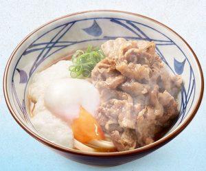 丸亀製麺「牛とろ玉うどん」2017年4月25日