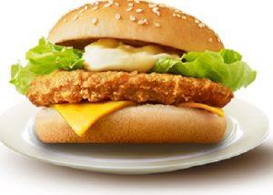 チキンチーズバーガー(チキチー)、おてごろマック