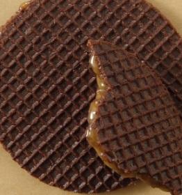スタバのフード「チョコレートキャラメルワッフル」