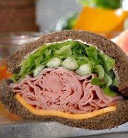 スタバのフード「ハニーハム&チェダーチーズサンドイッチ」