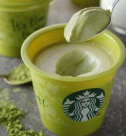 スタバのフード「抹茶クリームプリン」