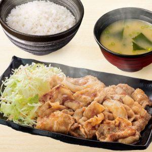 吉野家 豚生姜焼定食
