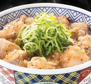吉野家「ねぎ塩鶏丼」