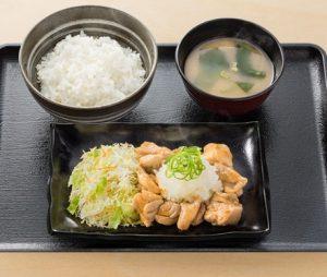 吉野家「おろし鶏定食」