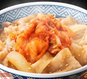 吉野家「豚キムチ丼」