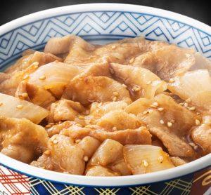吉野家「新味豚丼」