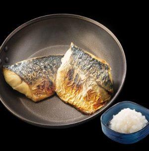 吉野家の夜定食「炙り塩鯖(単品)」