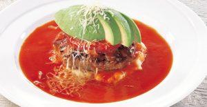 ココス 「フレッシュアボカドのプレミアム ハンバーグステーキ ~森のバターとトマトのマリアージュ~」