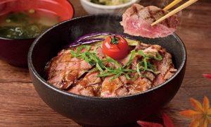 ココスのクーポン「熟成サーロインステーキ丼」2018年10月