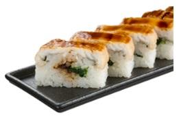 スシロー お持ち帰り「上穴子の押し寿司」
