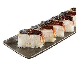 スシロー お持ち帰り「焼とろ鯖押し寿司」