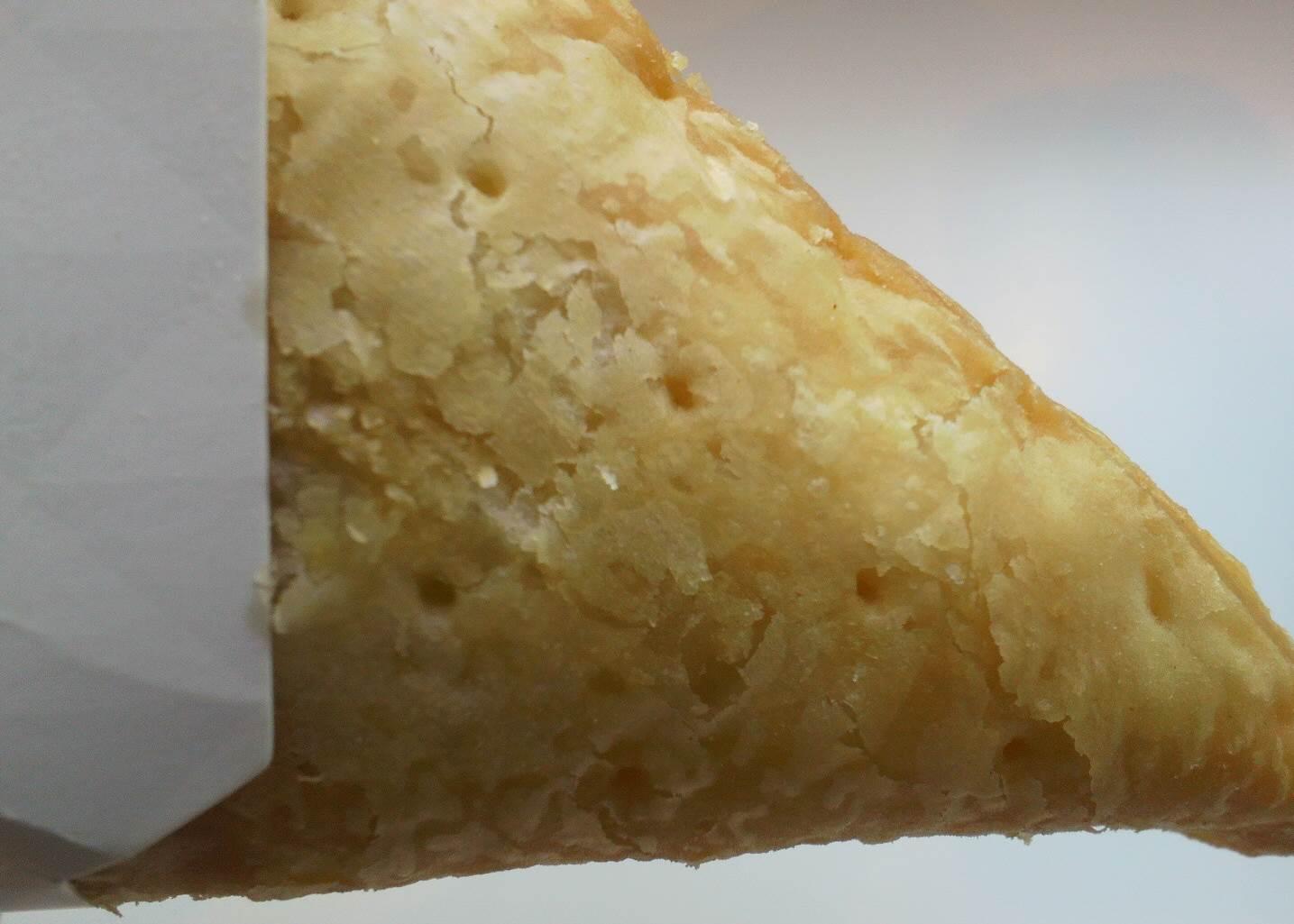 マック 三角チョコパイ白の中身
