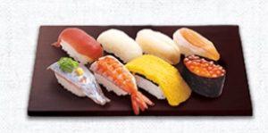 はま寿司の持ち帰り、定番8貫