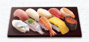 はま寿司の持ち帰り、人気10貫