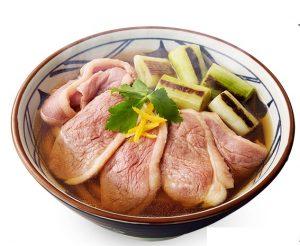 丸亀製麺の鴨ねぎうどん2017年1月10日2
