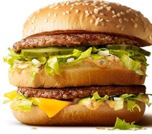 マクドナルドのビッグマック