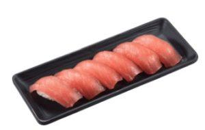 かっぱ寿司の持ち帰り「ちょい足し寿司(まぐろ6貫)
