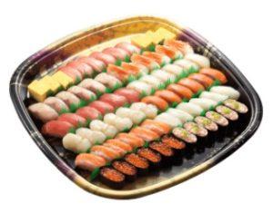 かっぱ寿司の持ち帰り「華やかセット」6人前