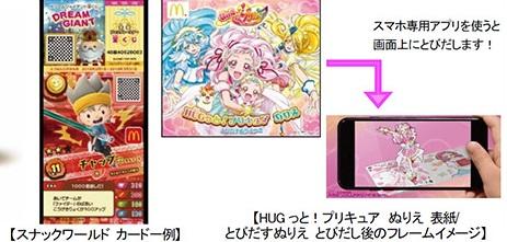 ハッピーセット「スナックワールド/HUGっと!プリキュア」2