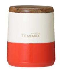スタバ2017年11月22日「Teavana™ ウッドリッド付カップオレンジ」