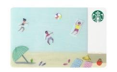 スタバのタンブラー・マグ2017年7月14日「スターバックス カード ビーチ」