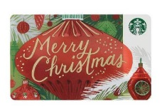 スタバ2017年11月1日「スターバックス カード メリークリスマス」