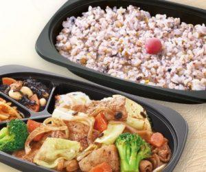 大戸屋のお持ち帰りメニュー「豚バラ肉と野菜の豆鼓炒め弁当」