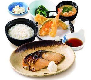 夢庵の週替わり「焼魚ランチ」