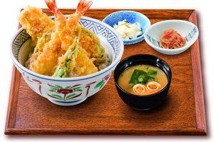 夢庵のお手軽ランチ「ランチ天丼」