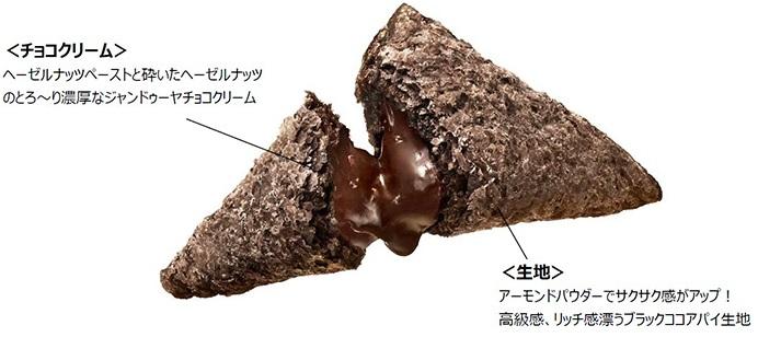 プレミアム三角チョコパイヘーゼルナッツ概要