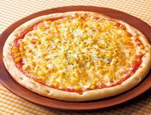 ガスト「マヨコーンピザ」