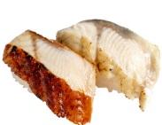 かっぱ寿司「うなぎの蒲焼き・白焼き食べ比べ」280円