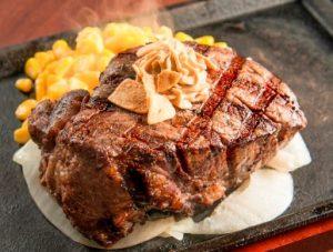 いきなりステーキ「US産ヒレステーキ」店舗限定