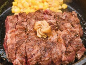 いきなりステーキのランチ「CABワイルドステーキ」