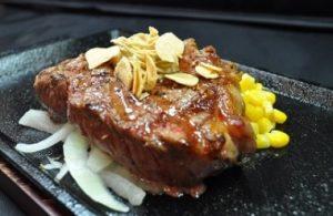 いきなりステーキ「ミドルリブステーキ」