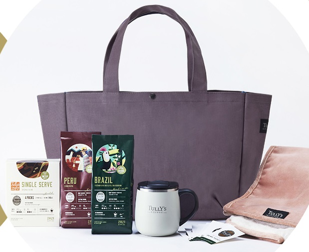 タリーズコーヒーの6000円福袋2021