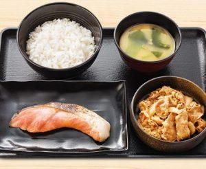 吉野家「牛鮭定食」