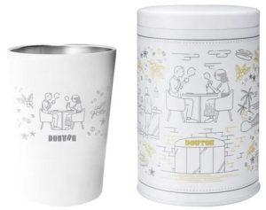 ドトールコーヒーの福袋2021のオリジナルキャニスター、オリジナルサーモタンブラー