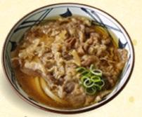 丸亀製麺の持ち帰り「肉うどん」