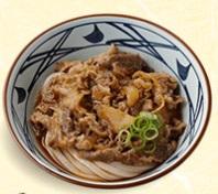 丸亀製麺の持ち帰り「肉ぶっかけ」