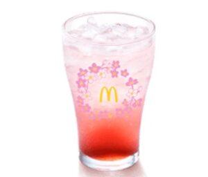 マクドナルドのマックフィズ白桃