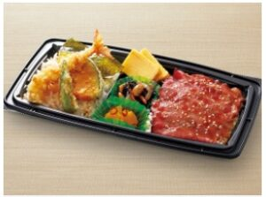 和食さとのテイクアウト「よくばりダブル丼」