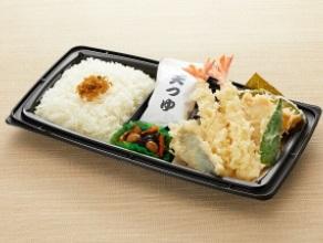 和食さとのテイクアウト「天ぷら盛り合わせ弁当」