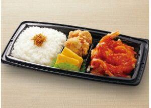 和食さとのテイクアウト「エビチリ弁当」