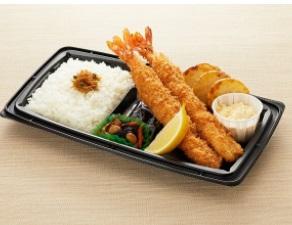 和食さとのテイクアウト「大海老フライ弁当」
