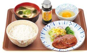 すき家「粗挽きソーセージ朝食」