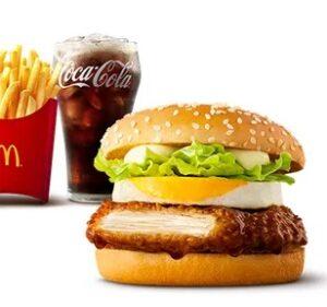 マクドナルドの新商品「親子てりやきセット」2021年5月
